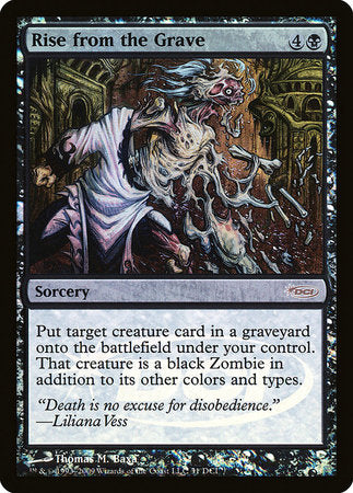 Rise from the Grave [Wizards Play Network 2009] | Tabletop Cards