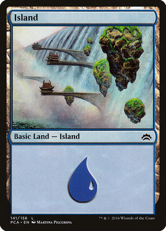 Island (141) [Planechase Anthology] | Tabletop Cards