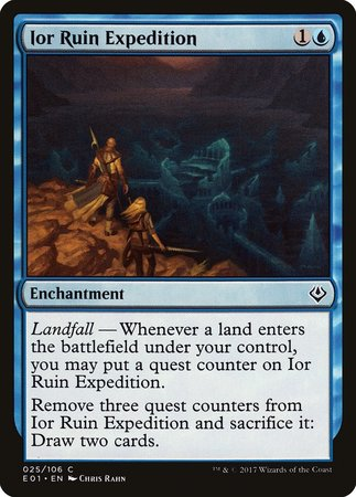 Ior Ruin Expedition [Archenemy: Nicol Bolas] | Tabletop Cards