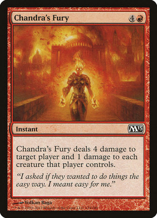 Chandra's Fury [Magic 2013] | Tabletop Cards