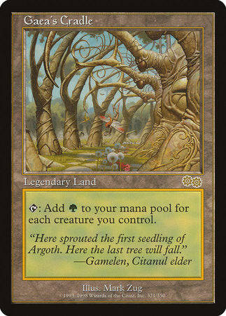 Gaea's Cradle [Urza's Saga] | Tabletop Cards