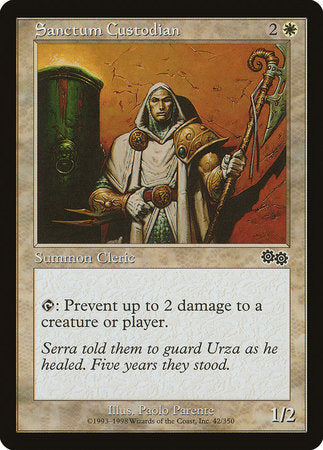 Sanctum Custodian [Urza's Saga] | Tabletop Cards
