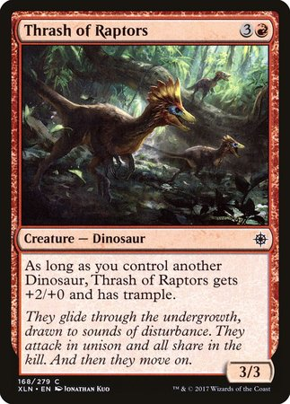 Thrash of Raptors [Ixalan] | Tabletop Cards