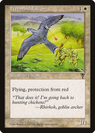 Freewind Falcon [Visions] | Tabletop Cards