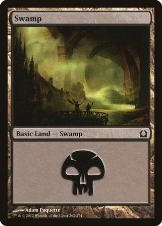 Swamp (262) [Return to Ravnica] | Tabletop Cards