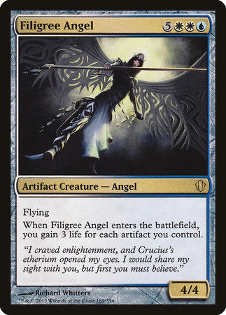 Filigree Angel [Commander 2013] | Tabletop Cards