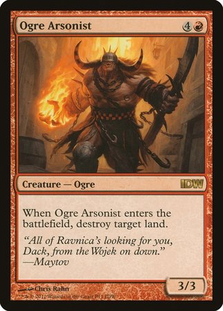 Ogre Arsonist (IDW Comics 2013) [IDW Comics 2013] | Tabletop Cards