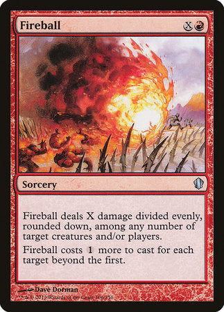 Fireball [Commander 2013] | Tabletop Cards