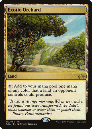Exotic Orchard [Planechase Anthology] | Tabletop Cards