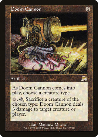 Doom Cannon [Onslaught] | Tabletop Cards
