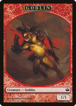 Goblin Token [Duel Decks: Knights vs. Dragons Tokens] | Tabletop Cards