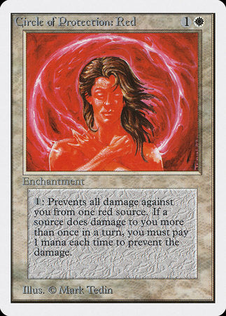 Circle of Protection: Red [Unlimited Edition] | Tabletop Cards