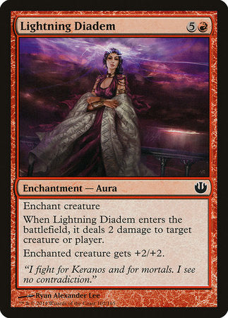 Lightning Diadem [Journey into Nyx] | Tabletop Cards