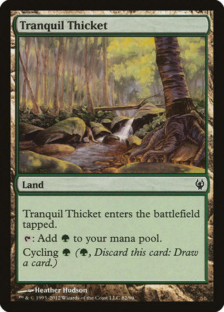 Tranquil Thicket [Duel Decks: Izzet vs. Golgari] | Tabletop Cards
