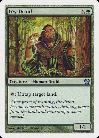 Ley Druid [Ninth Edition] | Tabletop Cards