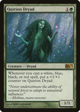 Quirion Dryad [Magic 2013] | Tabletop Cards