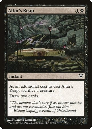 Altar's Reap [Innistrad] | Tabletop Cards