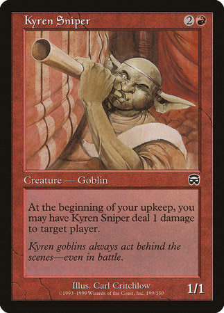 Kyren Sniper [Mercadian Masques] | Tabletop Cards