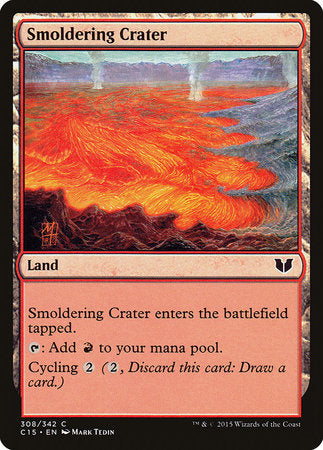 Smoldering Crater [Commander 2015] | Tabletop Cards