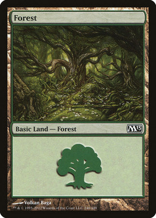Forest (246) [Magic 2013] | Tabletop Cards