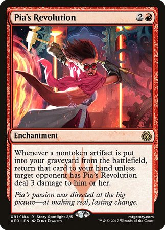 Pia's Revolution [Aether Revolt] | Tabletop Cards