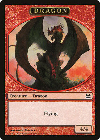 Dragon Token [Modern Masters Tokens] | Tabletop Cards