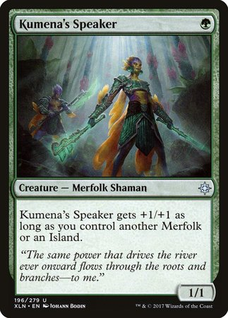 Kumena's Speaker [Ixalan] | Tabletop Cards