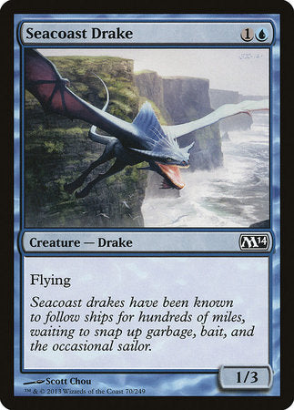 Seacoast Drake [Magic 2014] | Tabletop Cards