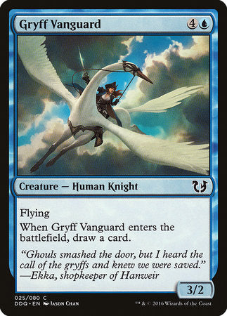 Gryff Vanguard [Duel Decks: Blessed vs. Cursed] | Tabletop Cards