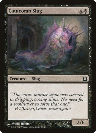 Catacomb Slug [Return to Ravnica] | Tabletop Cards