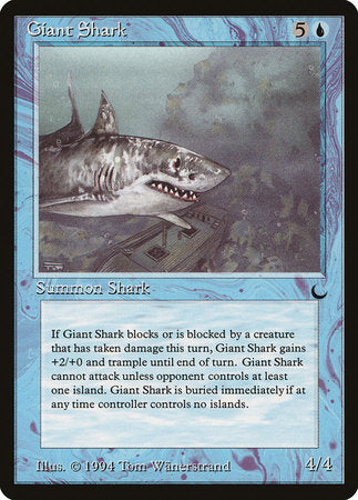 Giant Shark [The Dark] | Tabletop Cards
