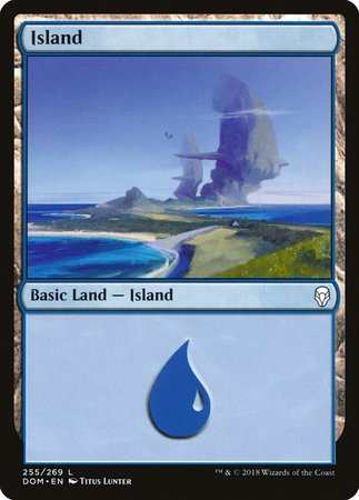 Island (255) [Dominaria] | Tabletop Cards