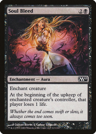 Soul Bleed [Magic 2010] | Tabletop Cards