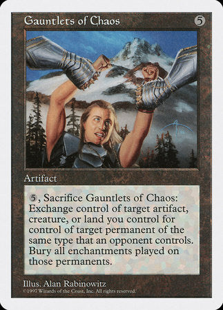 Gauntlets of Chaos [Fifth Edition] | Tabletop Cards