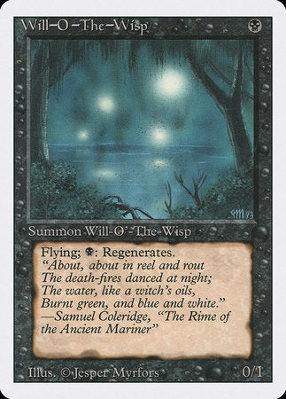 Will-o'-the-Wisp [Revised Edition] | Tabletop Cards