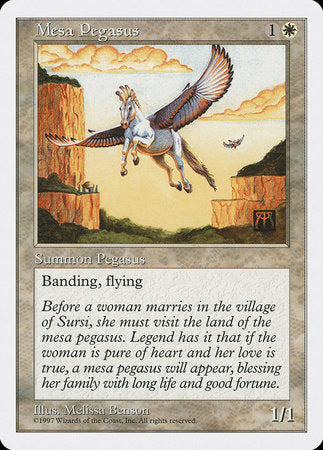 Mesa Pegasus [Fifth Edition] | Tabletop Cards