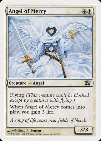 Angel of Mercy [Eighth Edition] | Tabletop Cards