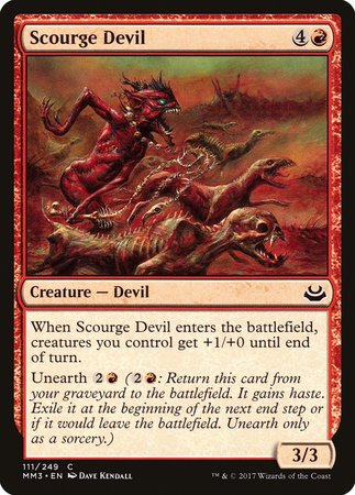 Scourge Devil [Modern Masters 2017] | Tabletop Cards