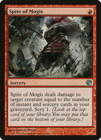 Spite of Mogis [Journey into Nyx] | Tabletop Cards