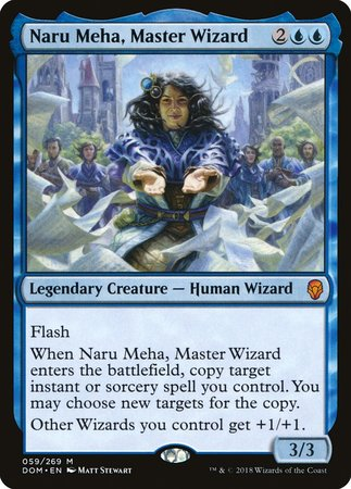 Naru Meha, Master Wizard [Dominaria] | Tabletop Cards