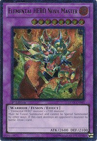 Elemental HERO Nova Master (UTR) [GENF-EN093] Ultimate Rare | Tabletop Cards
