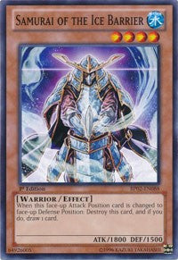 Samurai of the Ice Barrier [BP02-EN088] Common | Tabletop Cards