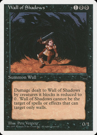 Wall of Shadows [Chronicles] | Tabletop Cards