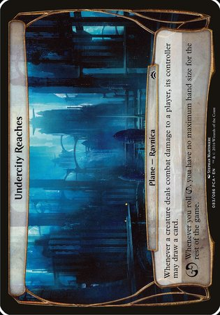 Undercity Reaches (Planechase Anthology) [Planechase Anthology Planes] | Tabletop Cards