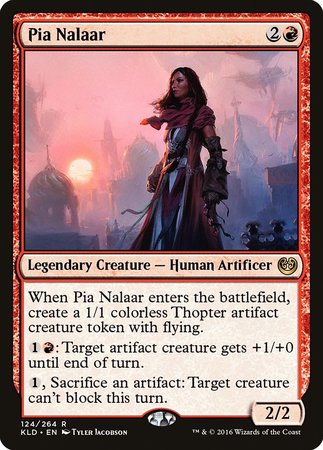 Pia Nalaar [Kaladesh] | Tabletop Cards