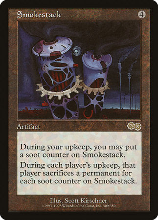 Smokestack [Urza's Saga] | Tabletop Cards