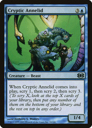 Cryptic Annelid [Future Sight] | Tabletop Cards