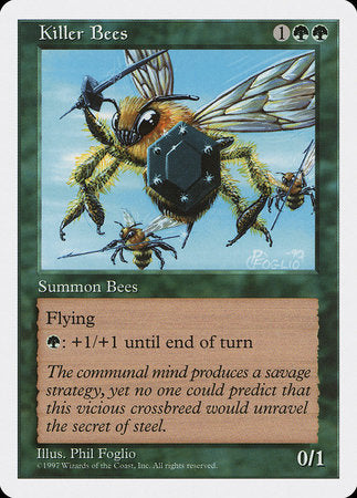 Killer Bees [Fifth Edition] | Tabletop Cards