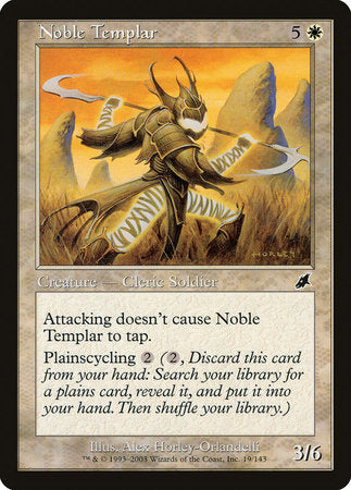 Noble Templar [Scourge] | Tabletop Cards