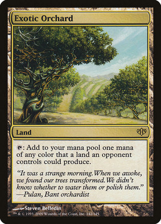 Exotic Orchard [Conflux] | Tabletop Cards